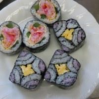 6月の料理倶楽部 巻き寿司