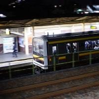 出社時に遭った電車たち