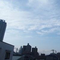 今朝(3月29日)の東京のお天気:晴れ?、(3月の作品:花を持つ少女)