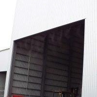 ミストシャワー 防塵対策 リサイクル工場 熱中症対策