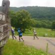 黒姫トレイルランニングレースの32kmで精根尽き棄権