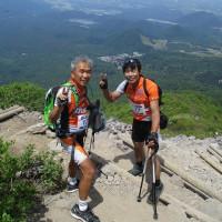 凪で良かった!皆生・大山sea to summit2017