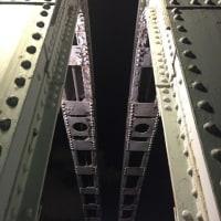 念願の勝鬨橋渡り初め