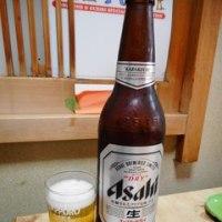 「味福」の夜のコース1,480円は料理5品+ビール大瓶1本または酒2合