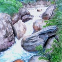 甲府・昇仙峡 荒川沿いの巨石渓流(再)