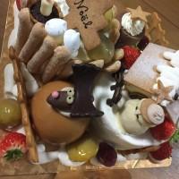 新潟市東区 風花のクリスマスケーキがとっても豪華だった!!