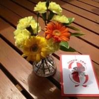 「プチ講座・ほのかに香る立体カード〈感謝を込めて…Thank you card〉」
