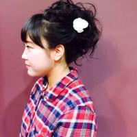 川越 美容室 kitaro 成人式!