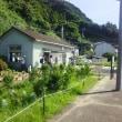 夏の下灘駅