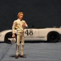 1/24 1970年 セブリング12時間耐久レースのスティーブ・マックイーン 1/24 Steve McQueen 1970 12 HOURS OF SEBRING RACE