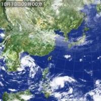 気パワーエネルギー龍が台風もどきを食らった