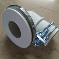 【温水器】メゾングッチ電気温水器排水エルボ部の漏水修理!MIYAKO『Z44KL-ES』