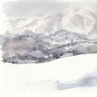 大雪の「高速ひるがの高原」