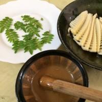 山椒いり酢味噌を作りました