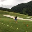 猿倉スキー場トレーニング