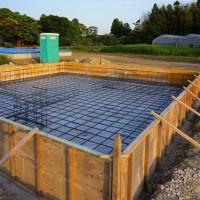 ちょっと良い貸家プロジェクト!岬町押日『 小さなGarden House 』は、基礎工事順調進行中!です。