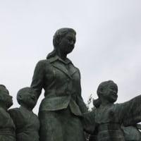 ぶらり旅・平和の群像(香川県小豆郡土庄町)