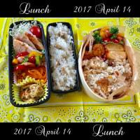 4月14日(金)のお弁当