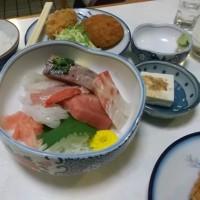 久しぶりに会った友人と、大磯お好み食堂「たまや」で会食
