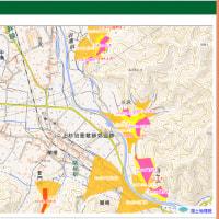 山形県庁HPの土砂災害ハザードマップは「指定済み」と「調査済み(指定前)」も掲載。避難路確認。米沢市