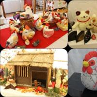 掛川市五明地区で手作り展示会