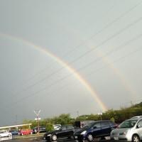 兄と見た虹