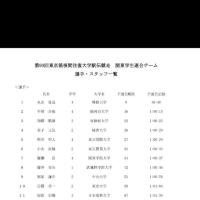 学連選抜に照井明人選手 (TIU駅伝部主将)