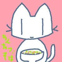 珍達そばを食べる