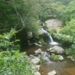 園部町の「るり渓」で、涼む。