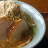 山武市麺屋異造の豚らーめん(並盛)+脂マシ