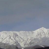 山々真っ白、、