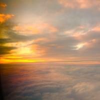 オレンジ雲