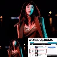 元2NE1貫禄のワールドアルバムチャート入り(MINZY)