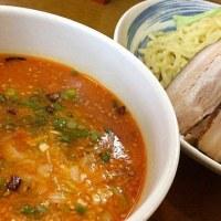 みそ辛子つけ麺を頂きました。 at トーフラーメン 幸楊