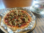 簡単ピザ生地で手作りピザ