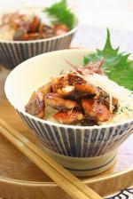 秋刀魚のみりん干丼
