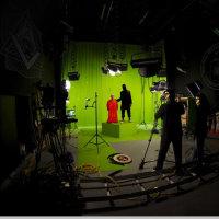 転載: スタジオで首切りインチキビデオを撮って砂漠の背景と合成