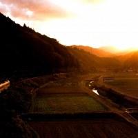 鉄道のある山里風景!