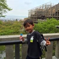 清水寺では日本人は超マイノリティ