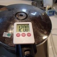 玄米圧力12分