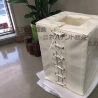 柱用防護カバー 特注製品