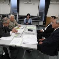 平成28年度会計監査と第1回役員会を開催。