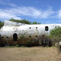 2016年小笠原村硫黄島慰霊墓参(11)今回初めて行った場所(9)B-29残骸(3)