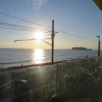 「七里ケ浜」BILLS 世界一の朝食で有名なレストランでテータイム