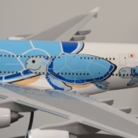 ANAのA380は「FLYING HONU」