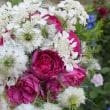 お庭の花で花束を(2)