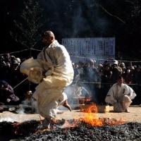 火渡り神事