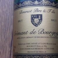 CREMANT DE BOURGOGNE Boursot Pere & Fils