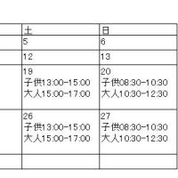 2016年11月 練習日程