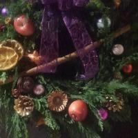クリスマスリース、今年も作りました!